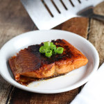 Sweet 'n Spicy Sriracha Glazed Salmon platingsandpairings.com