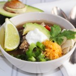Chicken Tortilla Soup platingsandpairings.com