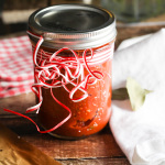 Homemade Pizza Sauce - Perfect Christmas Gift platingsandpairings.com