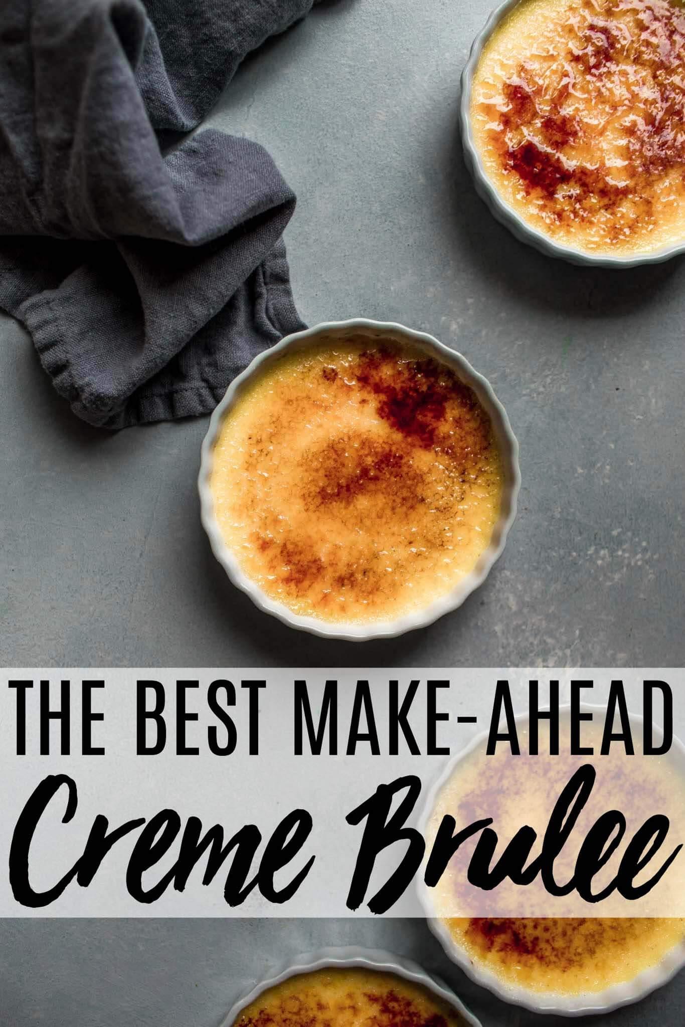Classic Creme Brulee Platings Pairings