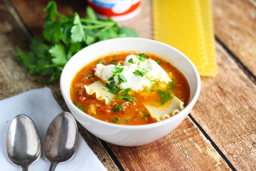 Lasagna Soup platingsandpairings.com