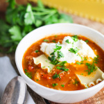 Lasagna Soup platingsandpairings.com