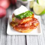 d Potatoes with Mojo Sauce platingsandpairings.com