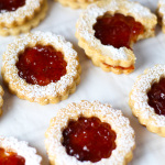 Linzer Cookies platingsandpairings.com
