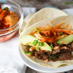 Korean Beef Tacos platingsandpairings.com