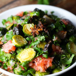 Roasted Brussels Sprouts with Pomelo platingsandpairings.com