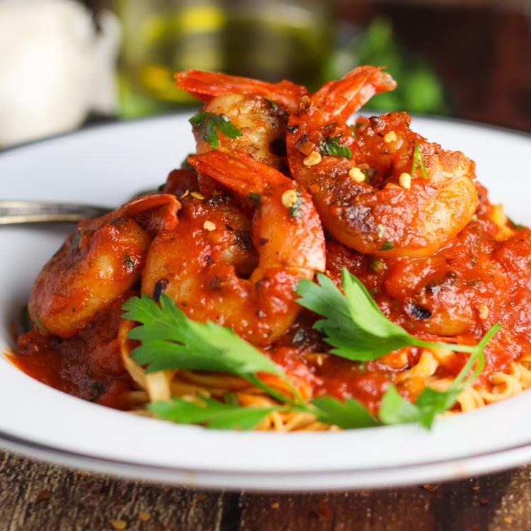 Food And Wine Shrimp Fra Diavolo Recipe