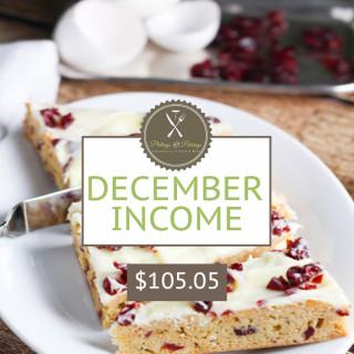 December 2014 Income Report