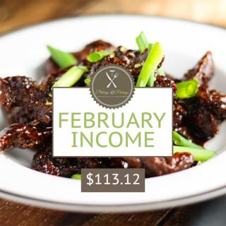 February 2015 Income Report