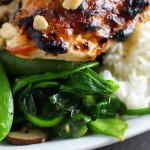 Miso Roasted Chicken - A quick 30 minute dinner platingsandpairings.com