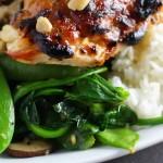 Miso Roasted Chicken - A quick 30 minute dinner platingsandpairings.com