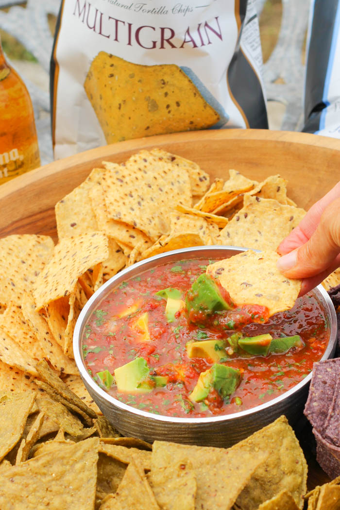 This 5-Minute Avocado Chipotle Salsa comes together easily with the ...