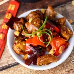 Slow Cooker Kung Pao Chicken | platingsandpairings.com