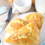 Honey Cream Scones | A simple scone recipe that can be dressed up with sweet or savory ingredients | platingsandpairings.com