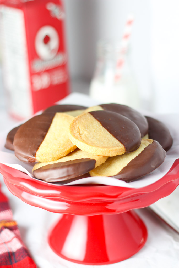 Chocolate dipped shortbread cookies are simple, yet delicious. A ...