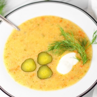 One-Pot Dill Pickle Soup + A $650 Amazon Gift Card Giveaway!
