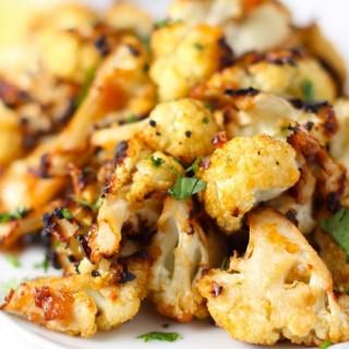 Miso Roasted Cauliflower