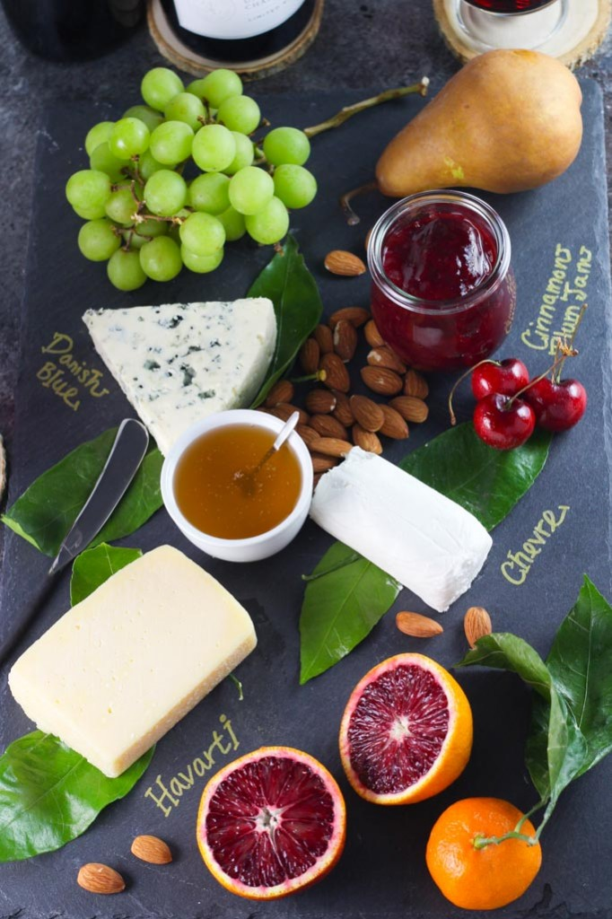 How to Assemble a Dessert Cheese Platter | platingsandpairings.com