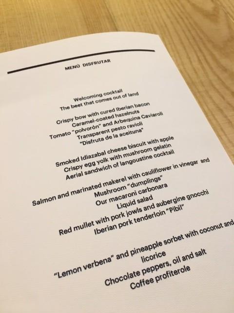 Disfrutar - A Gastronomic Eating Experience in Barcelona, Spain | platingsandpairings.com