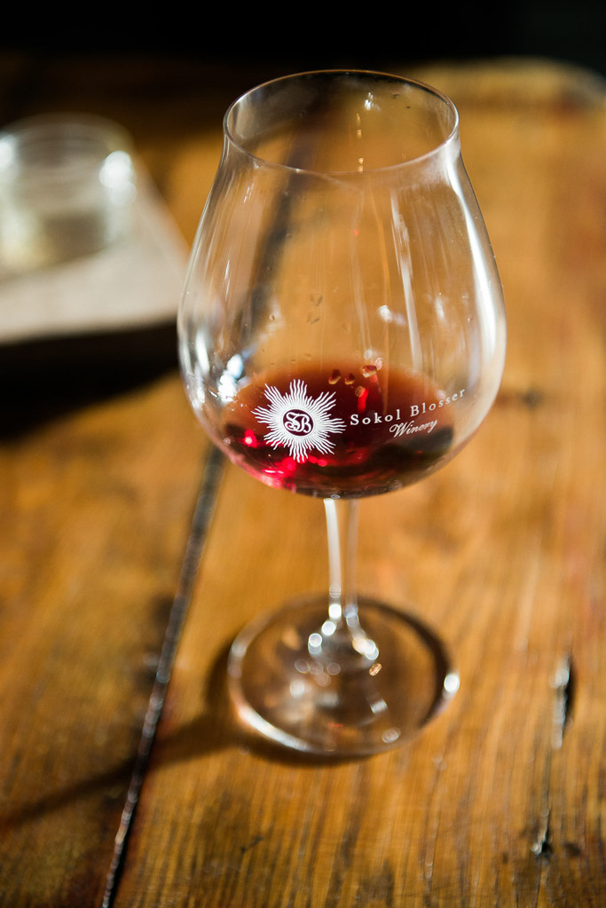 Wine Glass Sokol Blosser