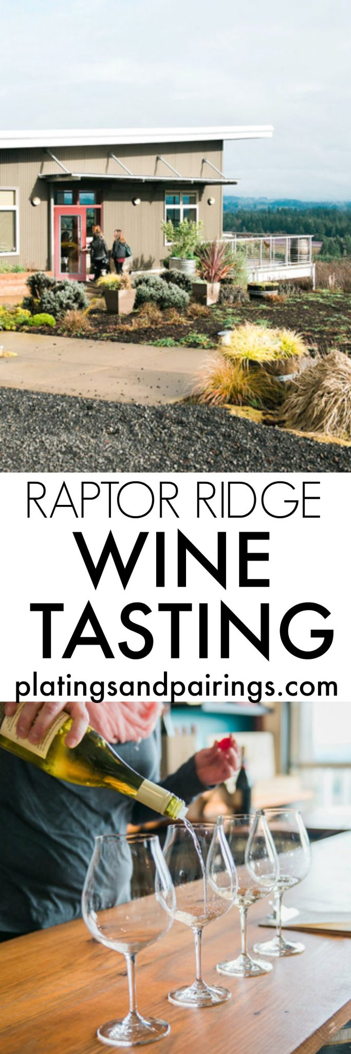 Raptor Ridge in Newberg, Oregon - A Day of Wine Tasting | platingsandpairings.com