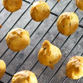 Asiago Gougères (Cheese Puffs)