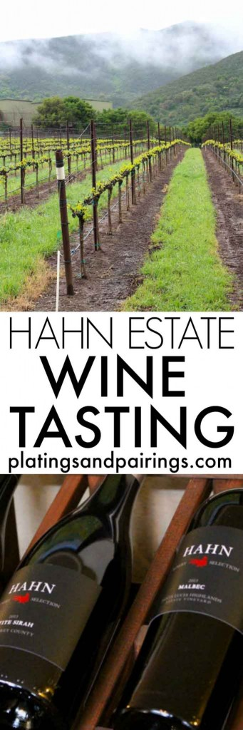 Wine Tasting at Hahn Estate in Soledad, California. Be sure to check out their amazing Pinot Noirs and Chardonnay | platingsandpairings.com