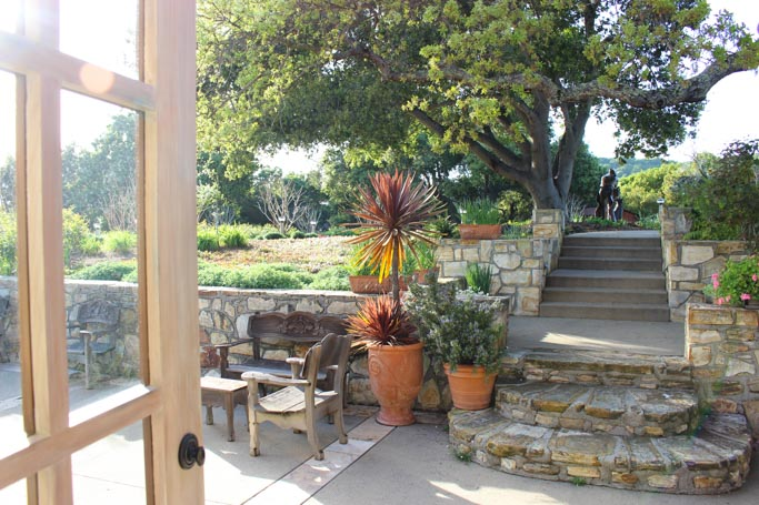 Holman Ranch is an ideal location in the hills above Carmel Valley perfect for special events and weddings. The grounds feature a stone hacienda, sweeping views, and an olive grove. While their estate vineyard produces amazing Chardonnay, Pinot Gris and Pinot Noir | platingsandpairings.com