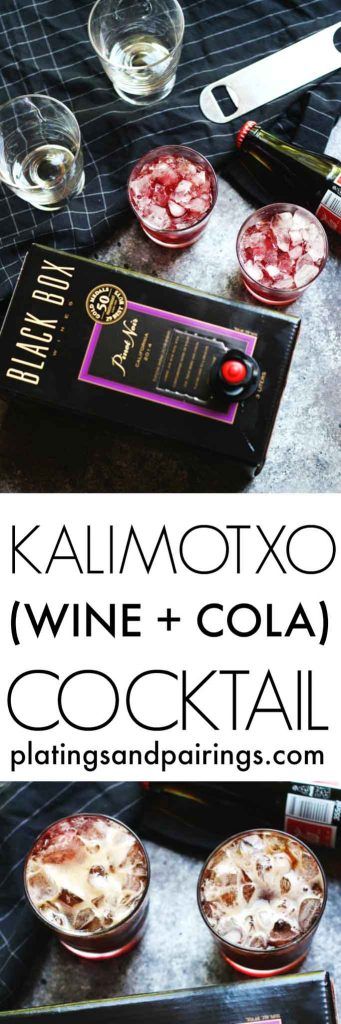 Have you tried a Kalimotxo? This authentic Spanish cocktail is a mixture of red wine and cola - A refreshing treat! | platingsandpairings.com