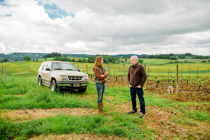 Ghost Hill Cellars in Carlton, Oregon has a story to tell – And it's not just about ghosts. This is a story of family, farming and Pinot Noir | platingsandpairings.com