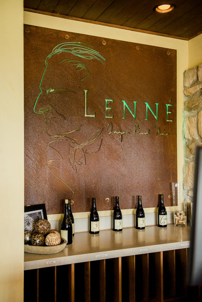 At Lenné Estate, located outside of Yamhill, Oregon, you'll find their Pinot Noir to have a beautiful and distinct mocha aroma and silky texture | platingsandpairings.com