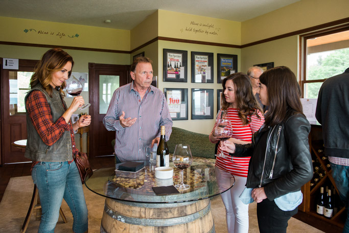 Youngberg Hill Vineyard believes in producing unmanipulated wines - allowing the true nature of the vintage to shine through. Visit them in McMinnville, Oregon for a tasting of Pinot Noir, Pinot Gris and Pinot Blanc | platingsandpairings.com