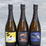 """Argyle Winer releases their """"Art of Sparkling"""" Vintage Brut three-bottle series, a new collaboration with the Pacific Northwest College of Art.   platingsandpairings.com"""