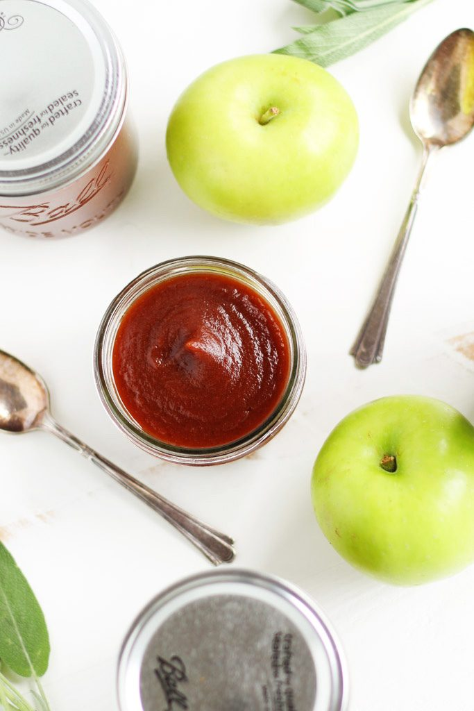 This Easy Slow Cooker Apple Butter is easy to make with the help of your crockpot. It's a delicious topping, spread and condiment. | platingsandpairings.com