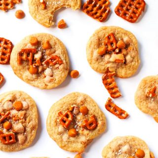 Pretzel & Butterscotch Chip Cookies