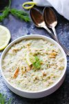 This Creamy Lemon Dill Chicken Soup is delicious with a hint of lemony brightness to warm you up on chilly winter days! | platingsandpairings.com