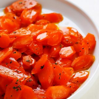 The Best Glazed Carrots
