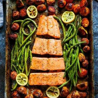 5-Ingredient Sheet Pan Salmon
