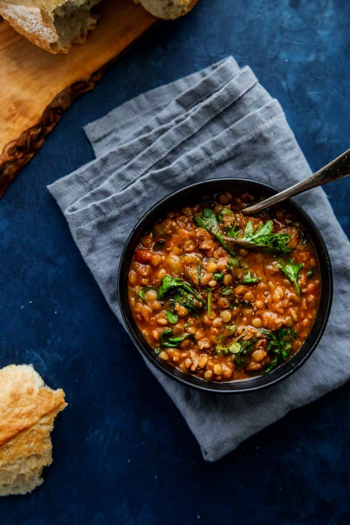 Instant Pot Lentil Soup with Sausage & Kale comes together quickly with the help of your electric pressure cooker. It's a hearty soup that's perfect for chilly days.