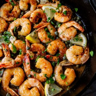 30-Minute Easy Shrimp Piccata