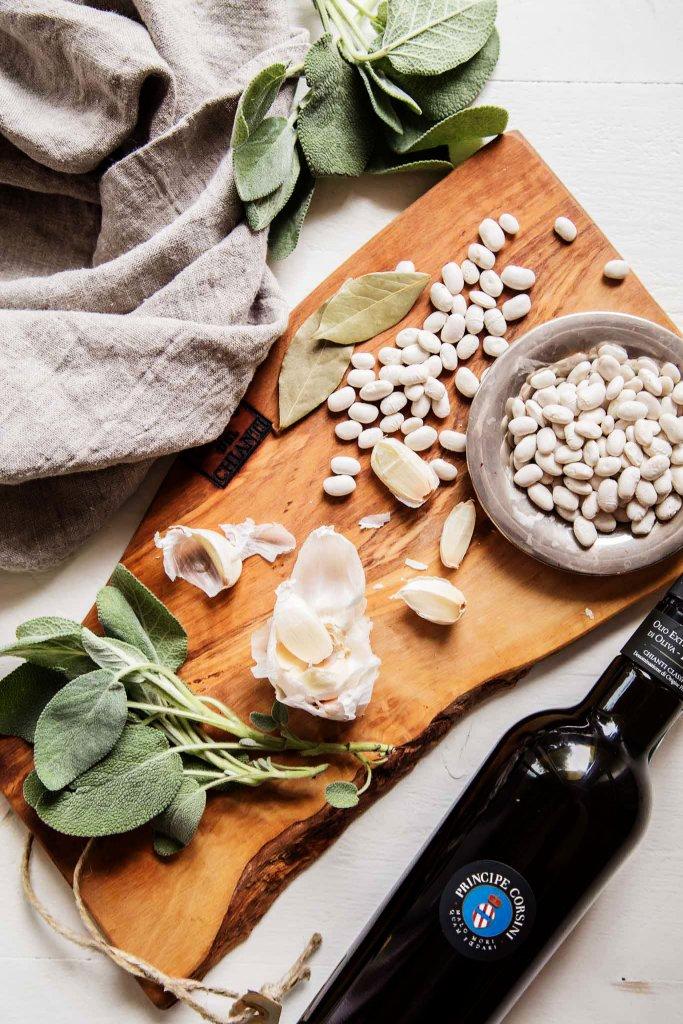 Ingredients for Italian White Beans
