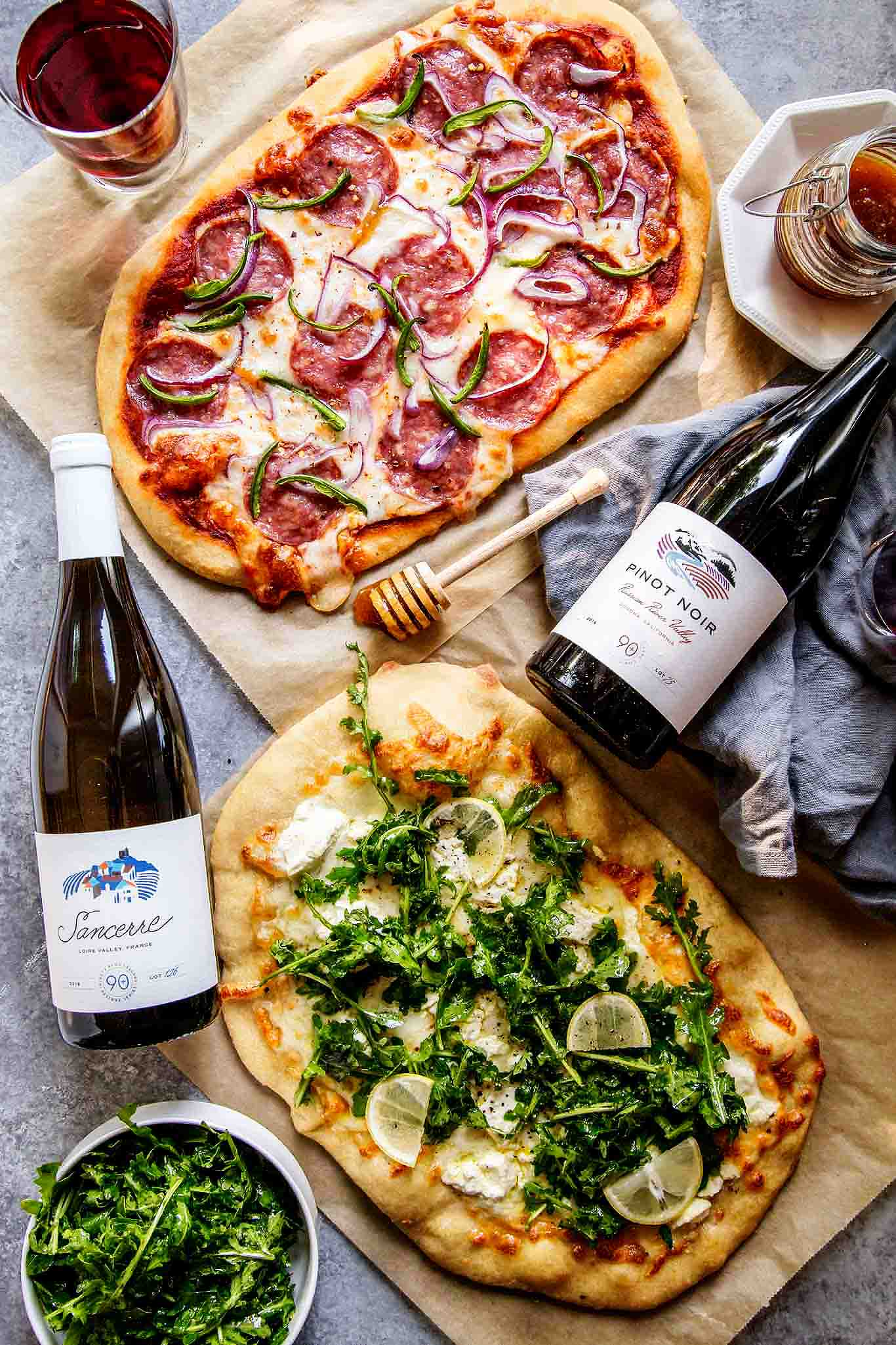 Wine Amp Pizza Party Platings Pairings
