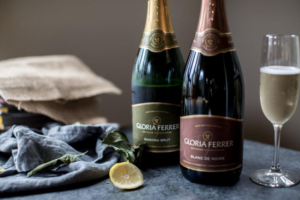 Bottles of Gloria Ferrer Sparkling Wine.