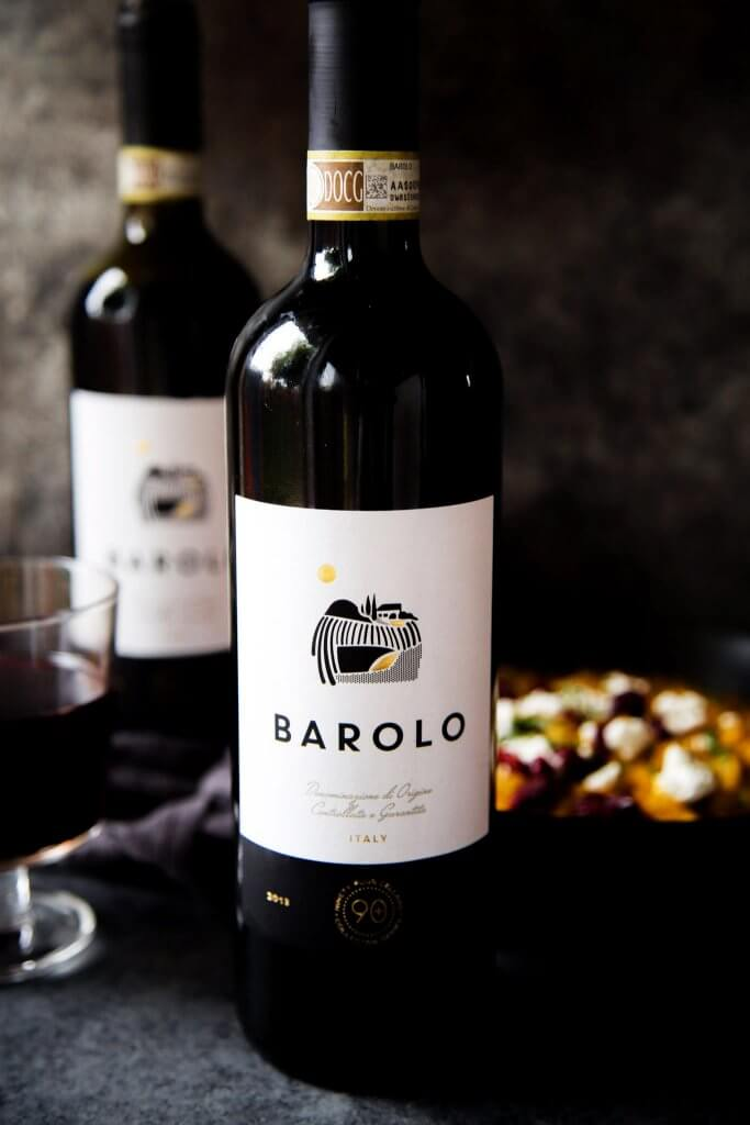 Bottle of Barolo