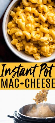This is the BEST Instant Pot Mac and Cheese! Made extra creamy with a secret ingredient plus delicious cheddar & parmesan cheese. It can be made in just 4 minutes with your electric pressure cooker. // easy // evaporated milk // pressure cooker recipes // kids // simple