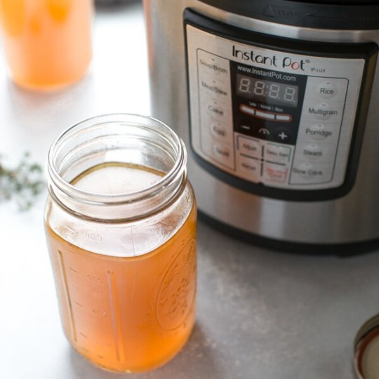 Instant Pot Bone Broth - This recipe is the BEST!