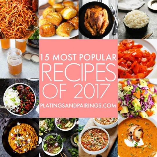 15 Most Popular Recipes of 2017
