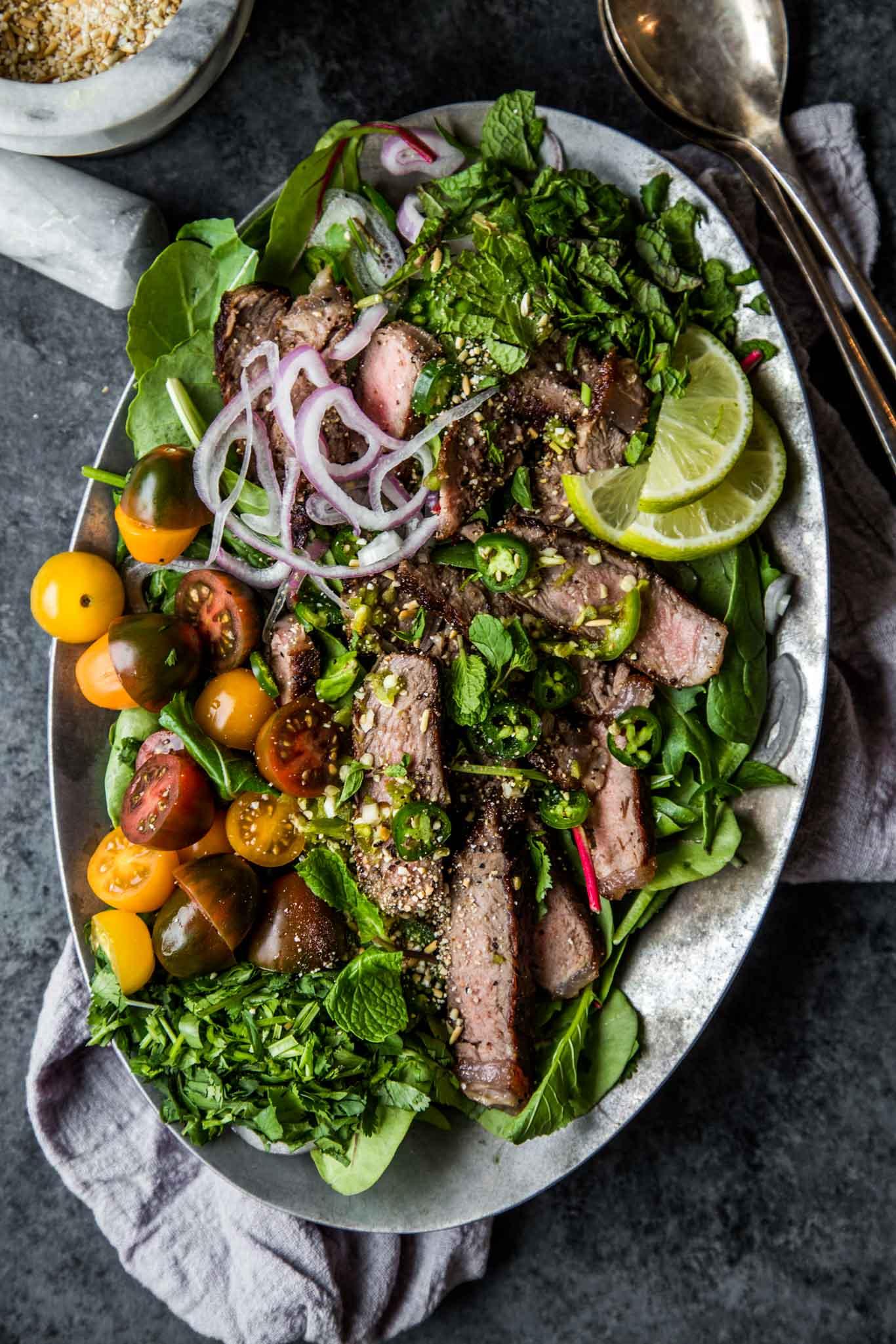 30-Minute Thai Beef Salad