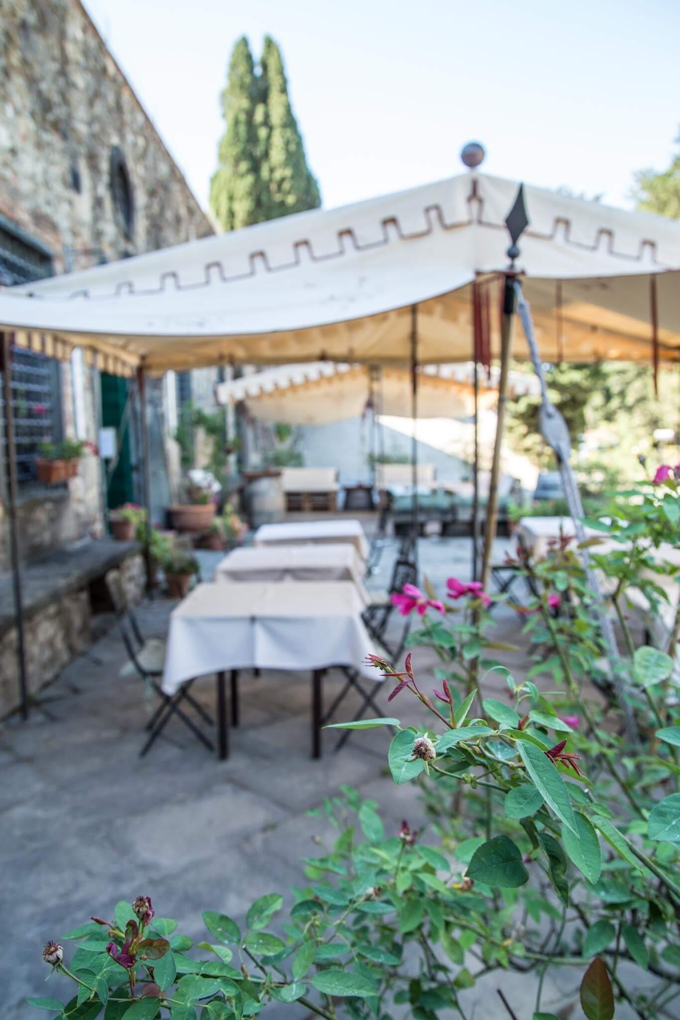 Outside views at Principe Corsini estate