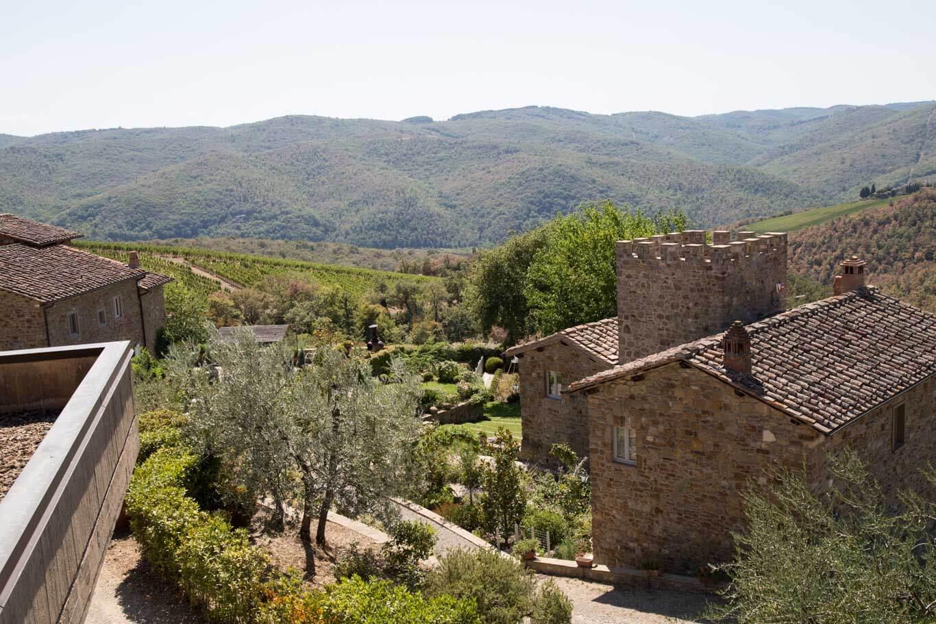 View at Fattoria di Montemaggio